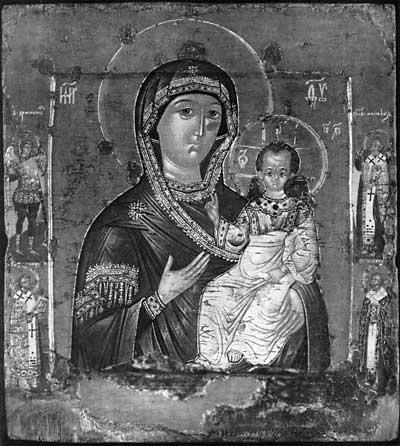 Богоматерь Одигитрия Смоленская