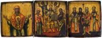 Деисус. Богоматерь «Знамение». Избранные святые