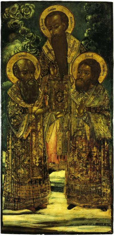 Gregory the Theologian, Basil the Great, John Chrysostom