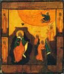 Огненное восхождение пророка Илии с избранными святыми