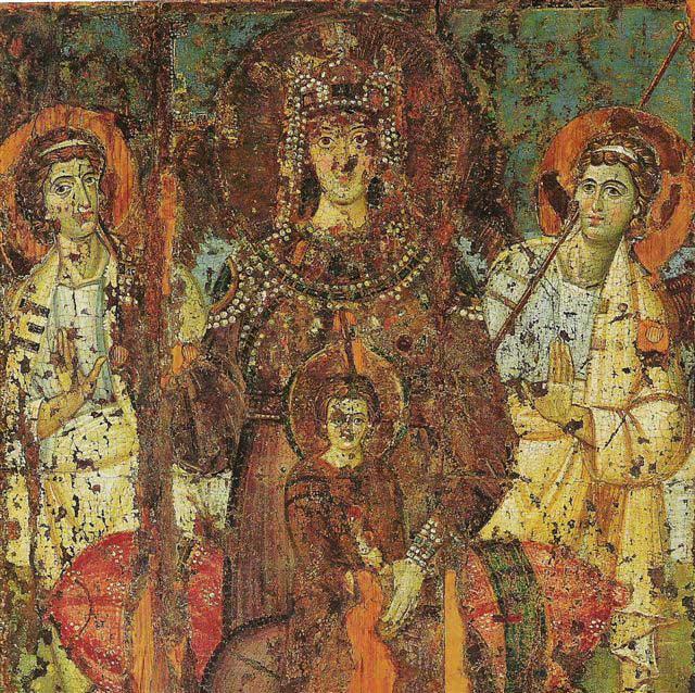 Полуфигура Богоматери с Младенцем