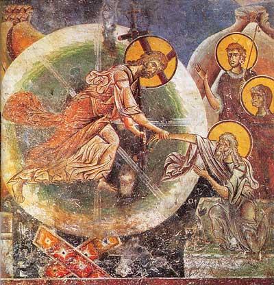Церковь святого георгия в курбиново