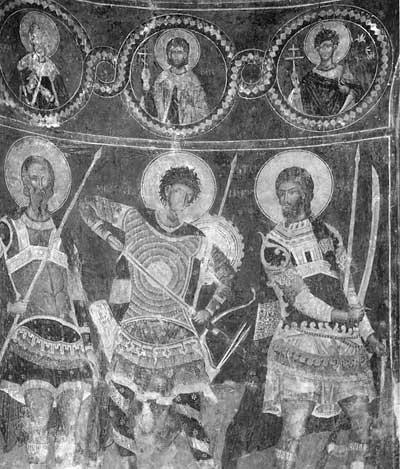 Мученики и святые воины