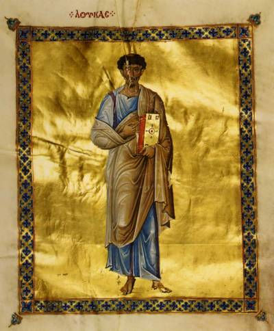 Евангелист Лука - Евангелие [cod.204], л. 12