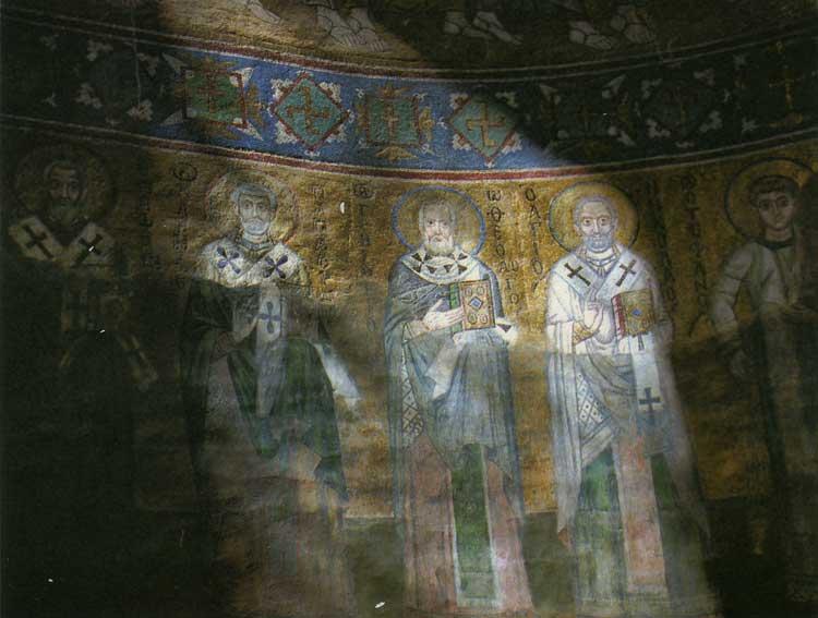 Святительский чин. Левая половина