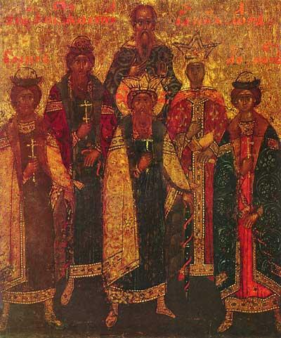 Святые князья