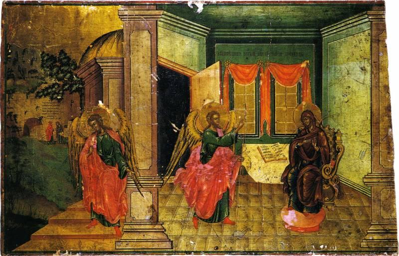 Благовещение со встречей Марии и Елизаветы