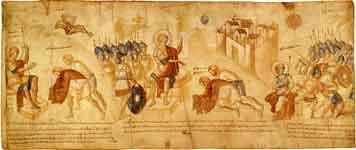 Гаваонские послы перед Иисусом Навиным. Избавление Гаваонитян из рук Аморрейских царей
