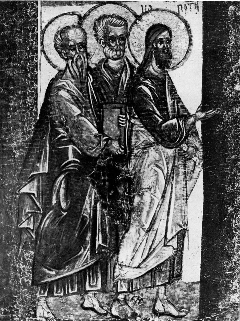Иоанн Предтеча и апостолы