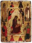 The Virgin Enthroned