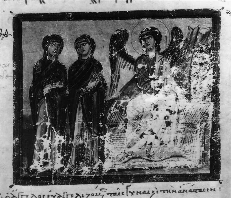 Жены-мироносицы у Гроба Господня - Синаксарь Захарии Валашкертского [A648], л. 42