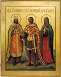 Александр Невский, Константин Великий и Мария Магдалина