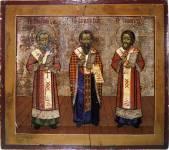 Григорий Богослов, Василий Великий, Иоанн Златоуст