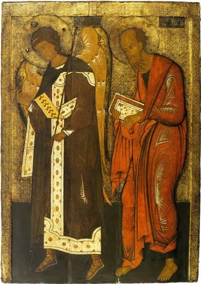 Apostle Paul and Archangel Gabriel