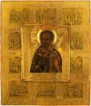 Hl. Nikolaus mit Vita