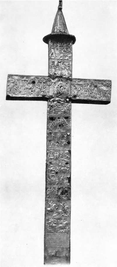 Чеканный крест из Чхари