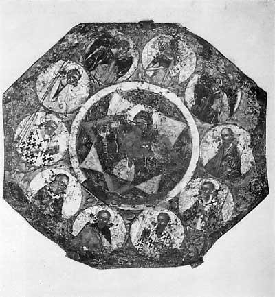 Богоматерь Знамение с избранными святыми