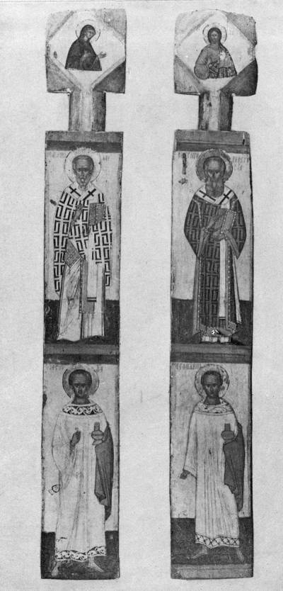 Столбики от царских врат