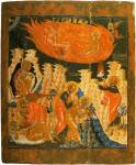 The Prophet Elijah and the Fiery Chariot with Scenes from the Life of the Prophet