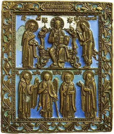 Деисус. Избранные святые