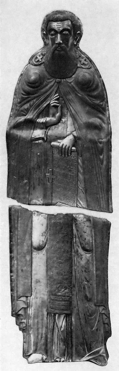 Верхняя часть раки Кирилла Белозерского