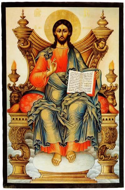 Спас Вседержитель на престоле