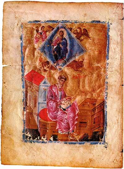 St Matthew the Evangelist -  [греч.101],