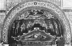 Богоматерь в окружении апостолов и святых