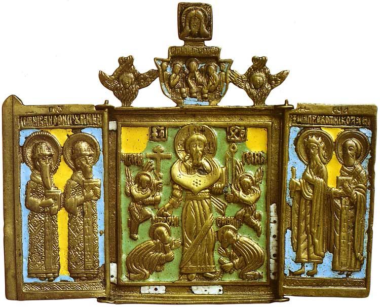 Спас Смоленский. Избранные святые