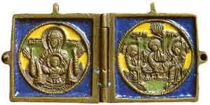 Богоматерь Знамение. Троица Ветхозаветная