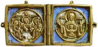 Троица Ветхозаветная. Богоматерь Знамение