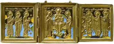 Деисус с избранными святыми