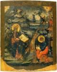 Иоанн Богослов на острове Патмосе