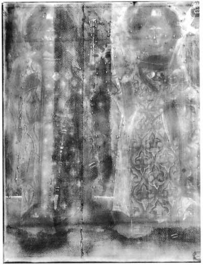 Рентгенограмма иконы