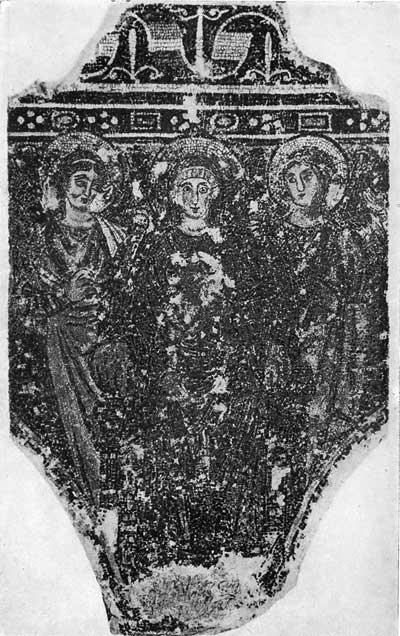 Богоматерь с Младенцем и двумя ангелами