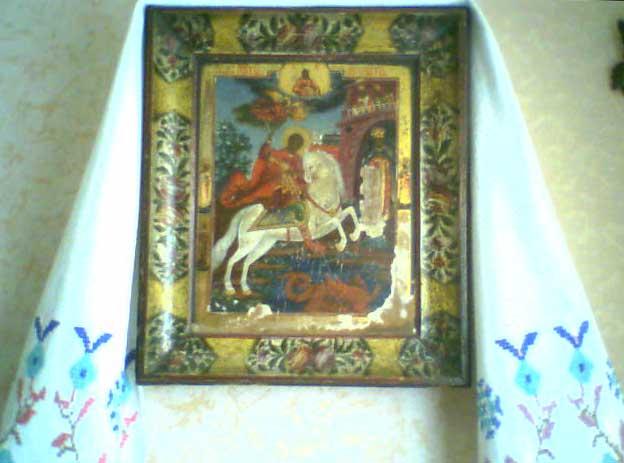 Чудо св.Георгия о змие
