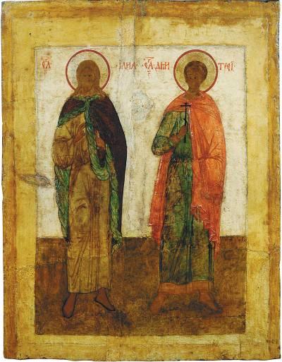 Пророк Илия, мч. Димитрий Солунский