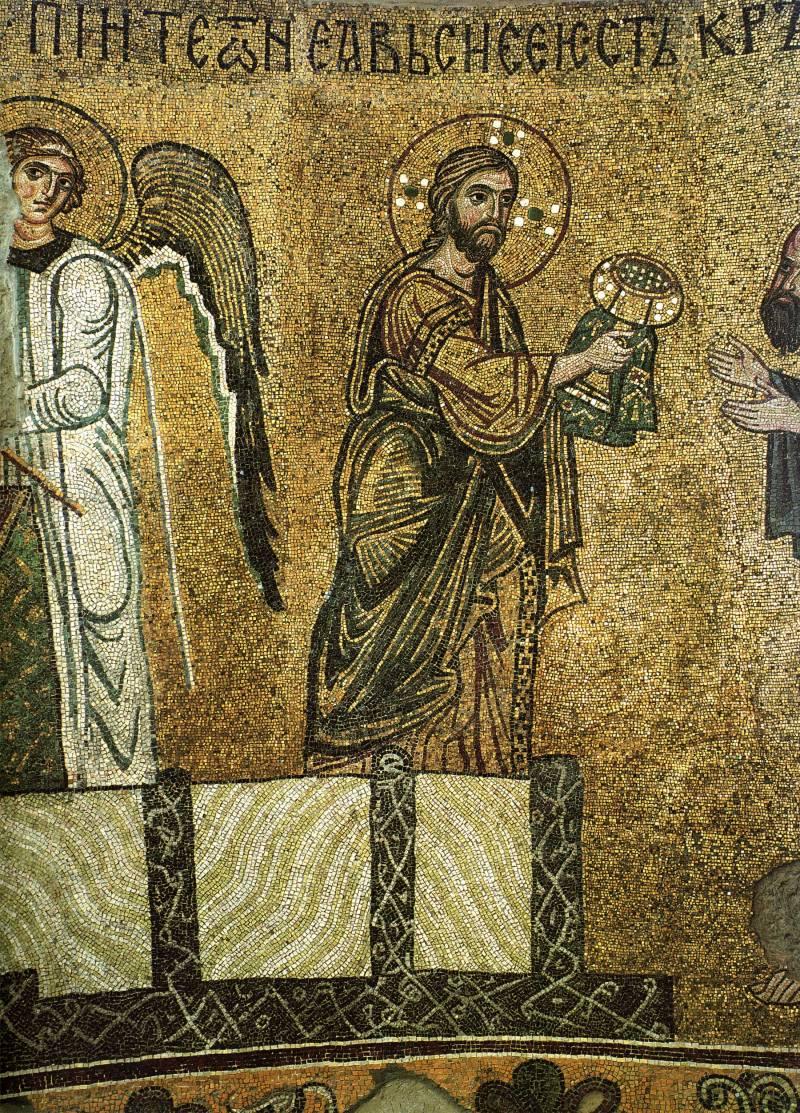 Христос и ангел