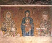 Богоматерь с Младенцем, император Иоанн II Комнин и императрица Ирина