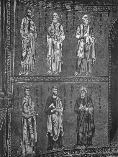 Апостолы Петр, Матфей, Марк, Андрей, Иаков и Филипп