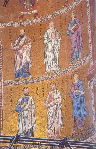 Апостолы Павел, Иоанн, Лука, Симон, Варфоломей и Фома