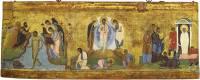 Taufe Christi. Verklärung Christi. Auferweckung des Lazarus