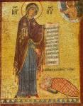 Богоматерь с заказчиком Георгием Антиохийцем