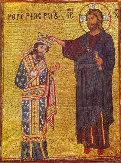 Христос коронует короля РожераII