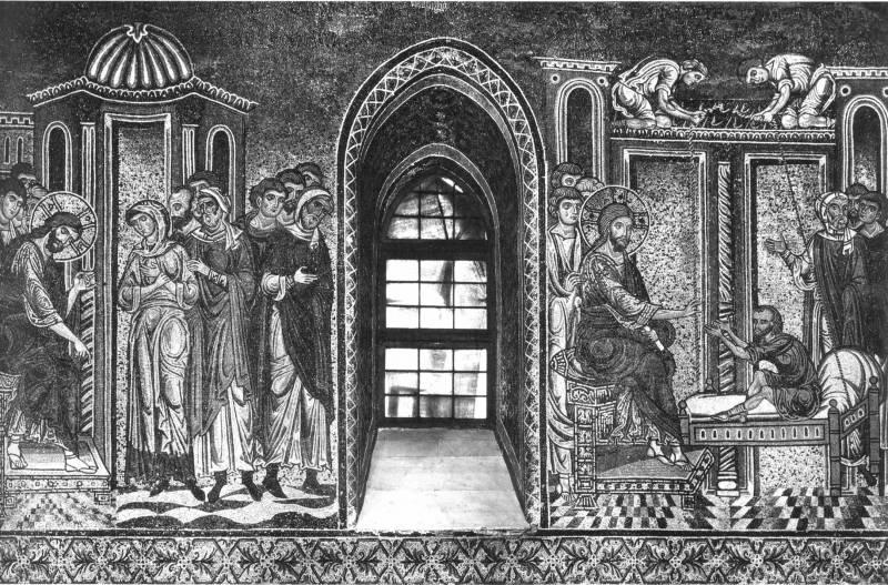 Христос и грешница. Исцеление расслабленного