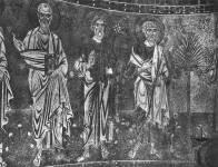 Апостолы Иоанн, Андрей и Петр