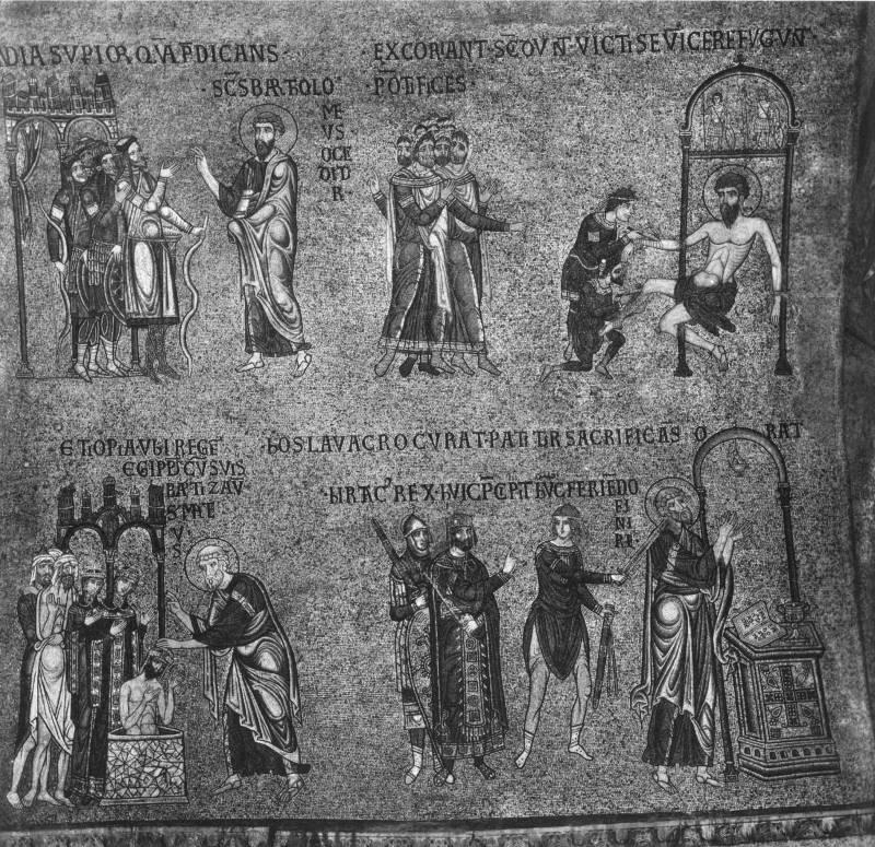 История апостолов Варфоломея и Матфея