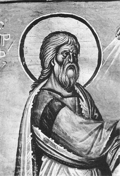 Пророк Амос - Книга пророков [Vat. gr.1153], л. 20 об.