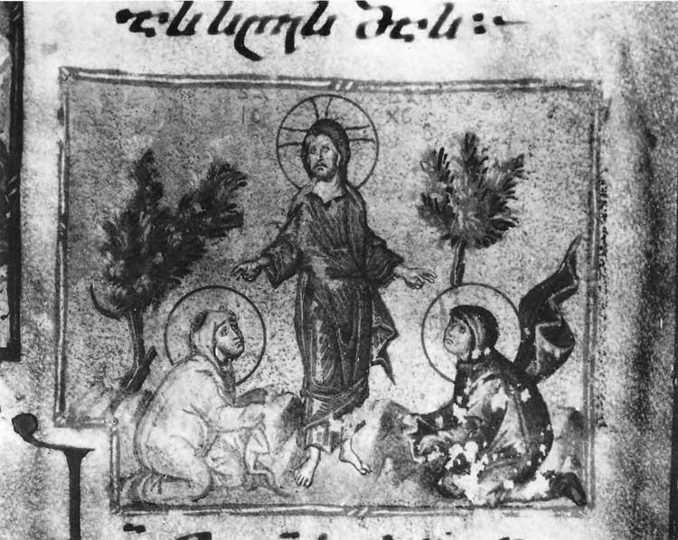 Явление Христа женам-мироносицам - Моквское Евангелие [Q 902], л. 101