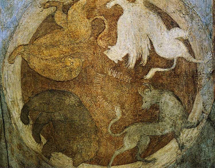 Символы четырех царств